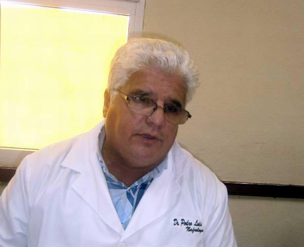 Pedro Luis, nefr�logo consagrado