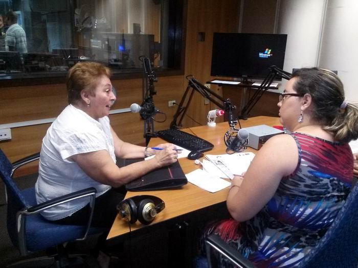 doctora Ana María Gómez García, metodóloga del Grupo Académico de Investigaciones sobre Droga Cedro, de la Universidad de Ciencias Médicas de La Habana, compareció este lunes en la emisión de Haciendo Radio