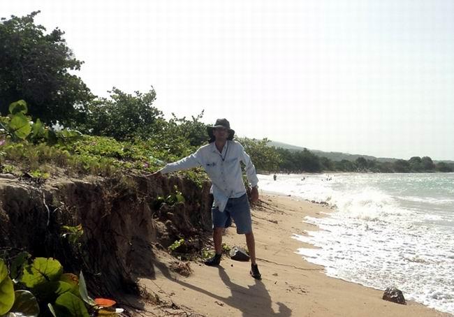 Las contaminaciones pueden afectar las zonas costeras.