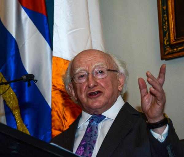 Irish President highlights historic ties between his country and Cuba