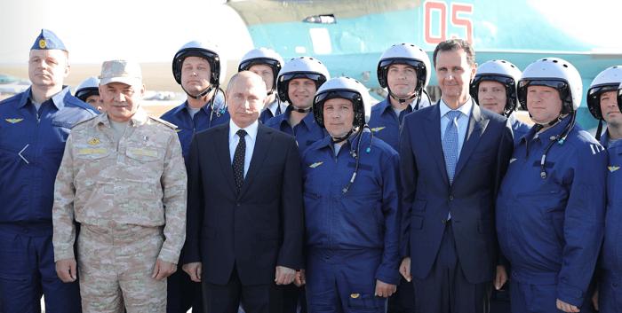 Destaca Putin victoria militar rusa contra terrorismo en Siria (+Fotos y Video)