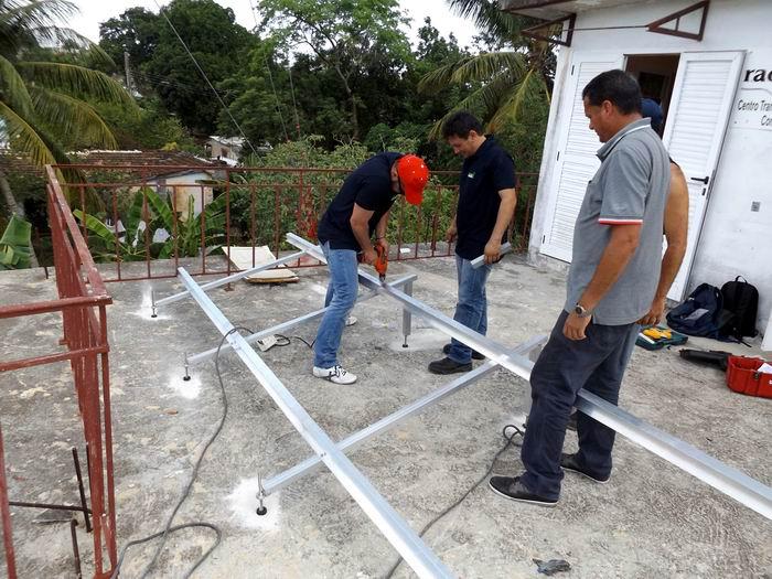 Solar Energy Used by Radio Jaruco Station