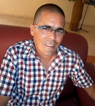 Promotor Nacional, del Centro de Ingeniería Genética y Biotecnología, de La Habana, Raudel Sosa.Foto: Mireya Ojeda