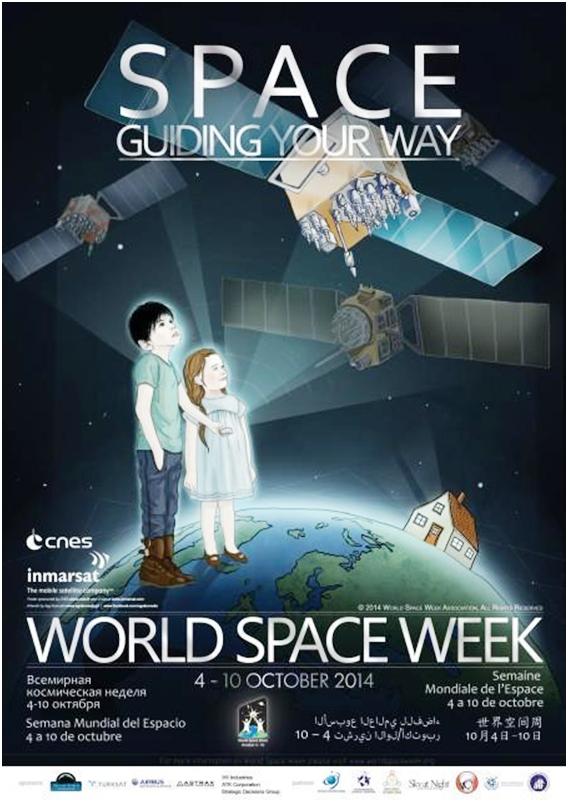 La Habana se une a las celebraciones en la Semana Mundial del Espacio, evento anual más importante en el mundo relativo al uso del espacio y la tecnología espacial, comprendida entre los días 4 y 10 de octubre