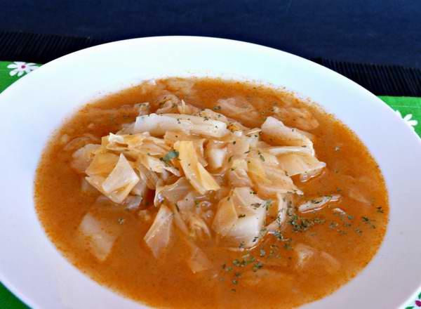 La receta de hoy: ¡Sopa de col!