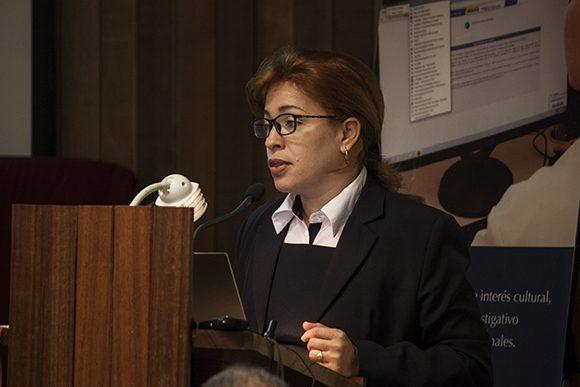 Tania Velázquez Rodríguez, Directora Central de la Dirección Central de Comercial y Mercadotecnia de ETECSA