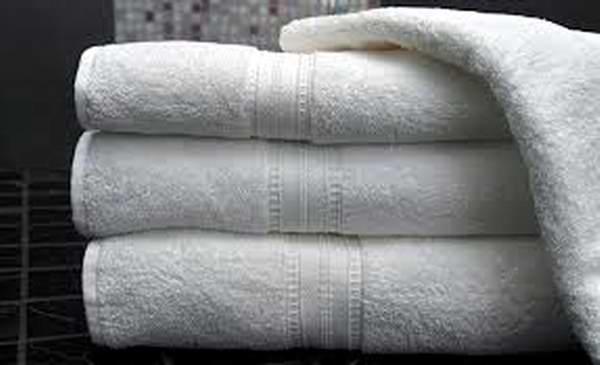 Para que tus toallas no luzcan ennegrecidas...