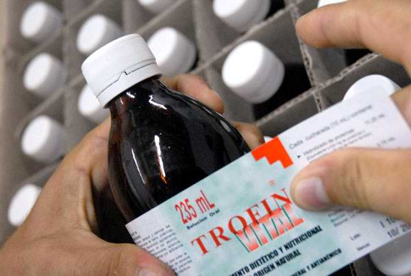 Favorece Trofin Vital a 200 mil pacientes en el oriente de Cuba. Foto Opciones