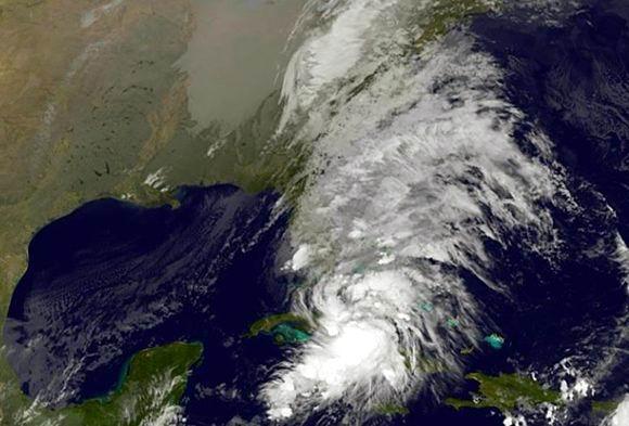Tormenta Tropical Philippe sobre el occidente de Cuba