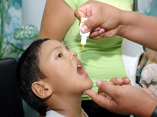 Comenzará este lunes segunda etapa de vacunación antipolio