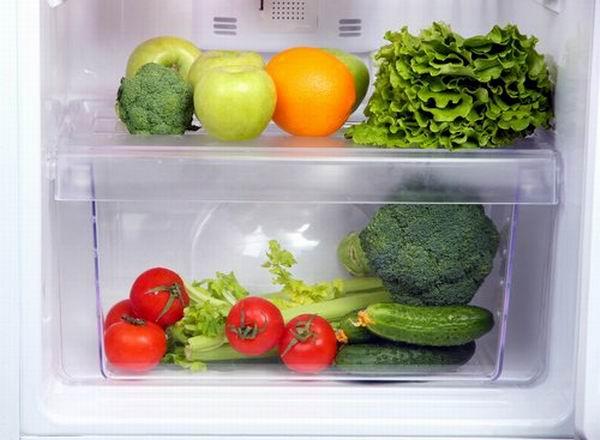 ¿Verduras en la nevera?