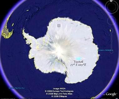 El lago Vostok, en la Antártida, alberga el agua más antigua y pura de la Tierra