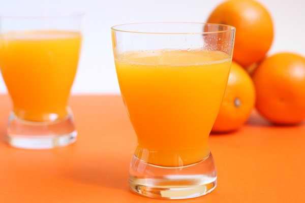 jugo de naranja receta
