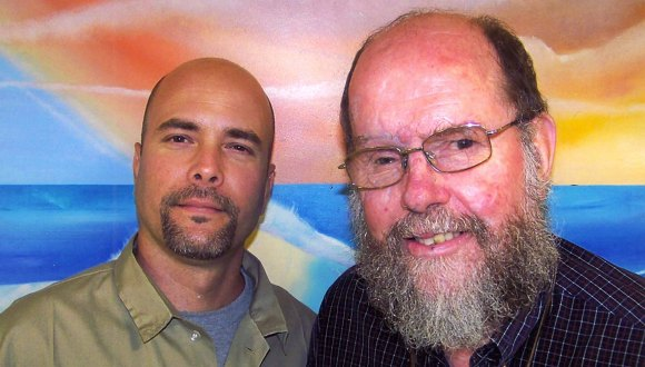 Priest Michael Lapsley Visits Gerardo Hernandez