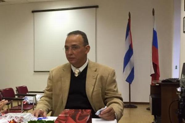 Antonio Guerrero condena sanciones contra Rusia