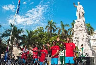 Contin�a hoy Bicicletazo por antiterroristas cubanos