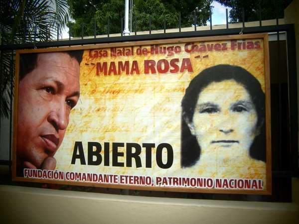 Los Cinco visitan lugar donde nació Chávez . Foto: Arelys García