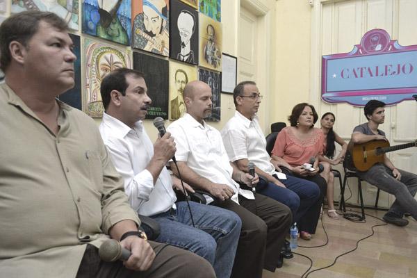 Solidaridad con Venezuela en el D�a de la Prensa (+Audio y Fotos)