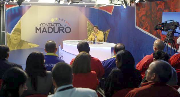 Cinco H�roes asisten a programa En Contacto con Maduro (+Audio)