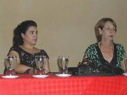 Esposas de Gerardo y Fernando. Foto: Miozotis Fabelo