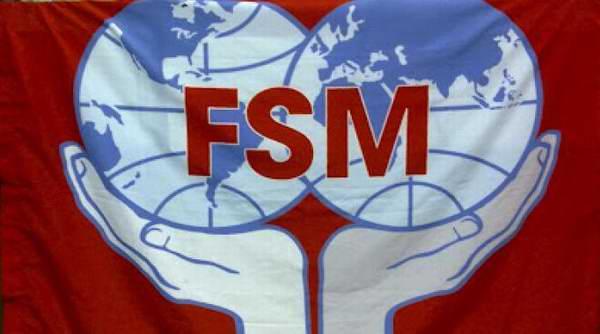 La Federación Sindical Mundial (FSM), transmitió una calurosa felicitación al pueblo trabajador cubano por victoria en la ONU