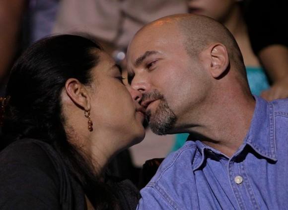 Gerardo y Adriana. Foto: Ismael Francisco