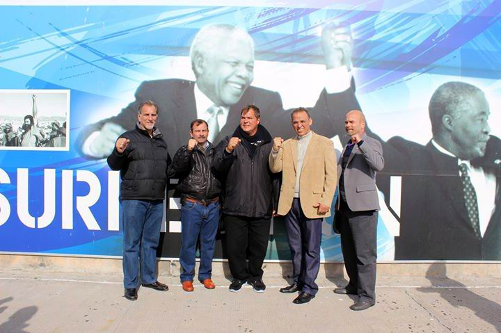 The Cuban Five Thank South Africans for Solidarity