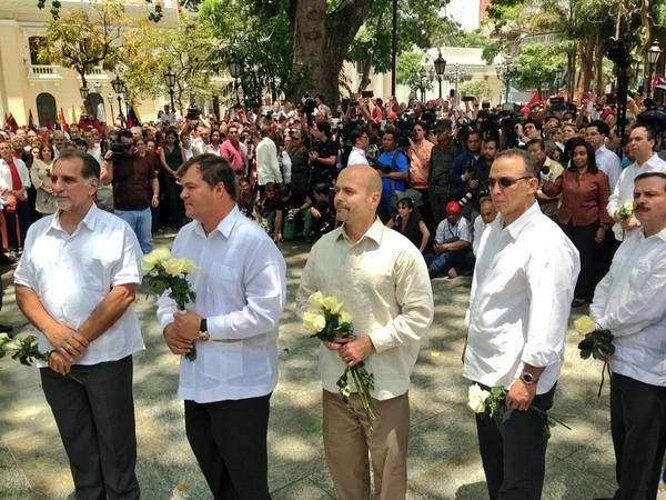 Nicol�s Maduro da la bienvenida a antiterroristas cubanos