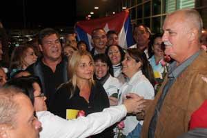 Llegaron Héroes cubanos a Ecuador