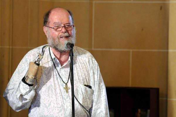El Vicepresidente del Consejo de Iglesias de Sudáfrica, Michael Lapsley. Foto Roberto Morejón