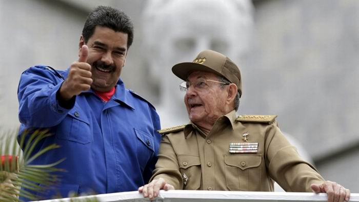 Raul Castro sends message to Venezuelan President
