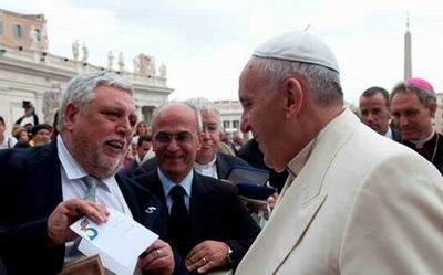 Pope Francis Receives Letter on the Case of The Five