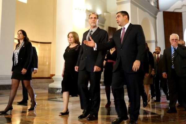 El Héroe cubano, René González visita la República Bolivariana de Venezuela. Foto:AVN