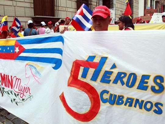 Este 12 de septiembre — fecha en que se cumplen 16 años del encarcelamiento en Miami de Los Cinco Héroes cubanos — acontece una jornada de trabajo comunitario, en Caracas, con la participación de representantes de todas las misiones sociales cubanas y venezolanas