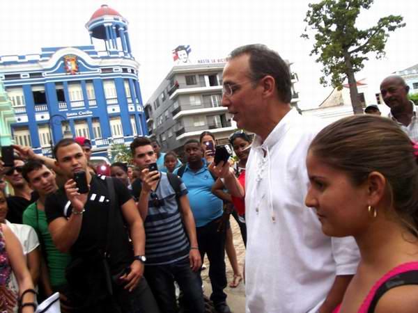 Tony Guerrero, uno de los Héroes en Camagüey . Foto: Miozotis Fabelo Pinares