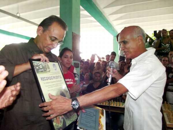 La huella de Antonio Guerrero en la Universidad de Camagüey. Foto: Miozotis Fabelo
