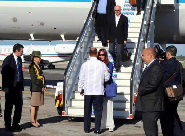 Presidenta de Argentina llegó a Cuba en visita oficial (+ Audio y Fotos)