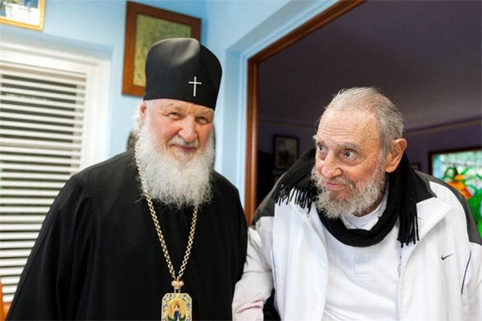 Resalta Fidel Castro importancia del encuentro entre el Papa Francisco y Su Santidad Kirill