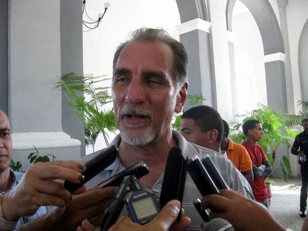 René González, Héroe de la República de Cuba y vicepresidente de la Sociedad Cultural José Martí.Foto: Sergio Martínez