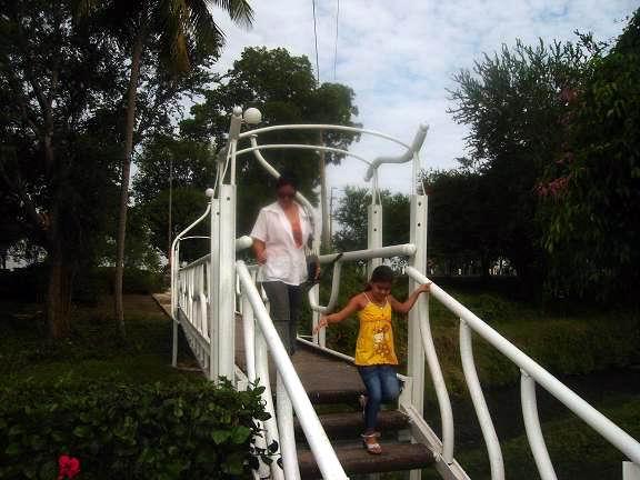Parque infantil en Cacocúm. Foto: Aroldo García