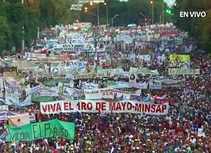 Primero de Mayo en La Habana
