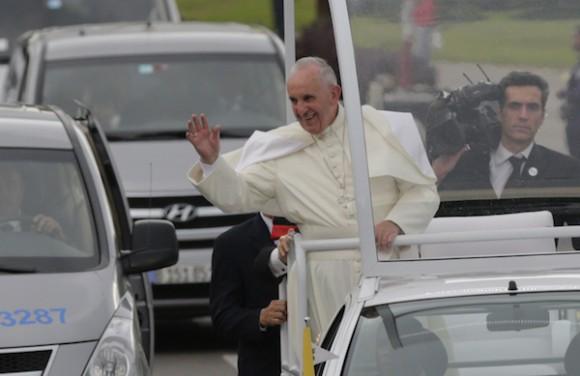 La visita del Papa Francisco en la mira de la Mesa. Foto: Ismael Francisco