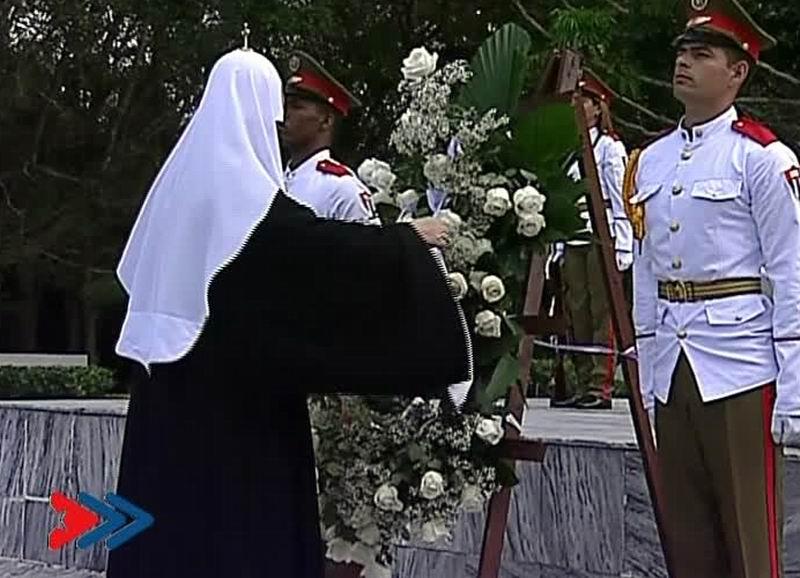 Homenaje del Patriarca Kirill al Soldado Internacionalista Soviético
