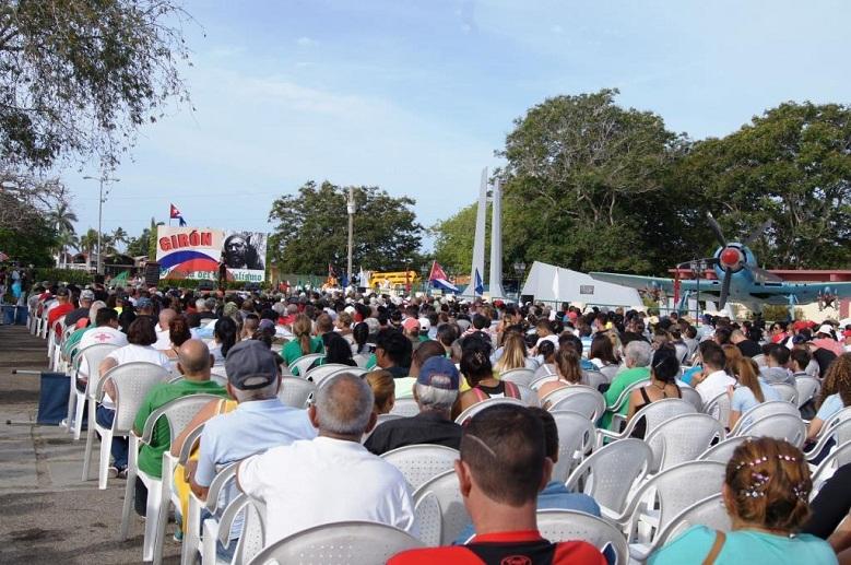 Fidel trazó el camino, nosotros  ahora tenemos que continuar (+Audio y Fotos)