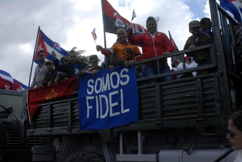 Somos Fidel. Foto: Carlos Serpa