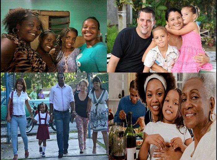 La familia es el mejor lugar para que nazcan los buenos sentimientos. Foto: Isel Quintana