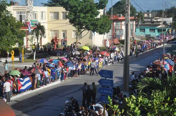 tributo camagüeyano a Fidel