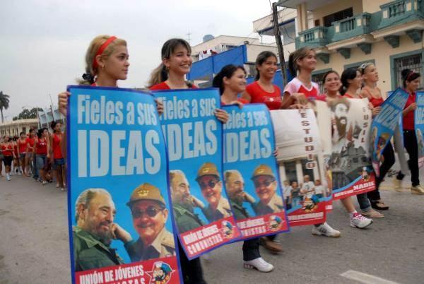 1ro. de Mayo en Sancti Sp�ritus, Cuba 2010