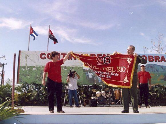 Un 26 de Julio sin Fidel, pero con él