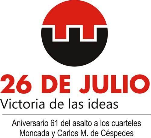 26 de Julio: Victoria de las ideas en el aniversario 61